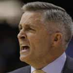 Brian Gregory and Georgia Tech will be on national television at least 10 times during the 2015-16 season. (AP Photo)