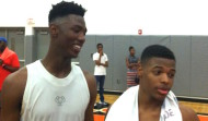 Class of 2016 hoops stars Harry Giles (left) and Dennis Smith (right) are two of the top ten high school basketball players in America. Both made Brick Oettinger's list of the nation's top 20 prospects in the class of 2016 (ACCSports.com)