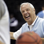 Roy Williams laughs
