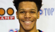 Delaware native Trevon Duval, a 5-star point guard in the class of 2017, was one of the top standouts at the recent NBA Top 100 Camp in Virginia (photo used with permission of NBPA)