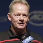 Bobby Petrino has coached the Louisville Cardinals to a dominant 3-0 start. (AP Photo)