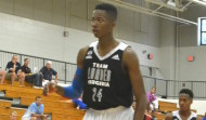 Mamadi Diakite, a native of Guinea currently playing his prep basketball in Virginia, made his pledge to Tony Bennett's Cavaliers on Tuesday (ACCSports.com photo)