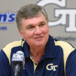 Paul Johnson has gone 61-44 since 2008 at Georgia Tech. (AP Photo).
