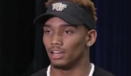 Ridgeway, Virginia defensive back Traveon Redd committed to Wake Forest Friday night on Roanoke/Lynchburg CBS affiliate WDJB