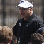 Pat Narduzzi and Pittsburgh landed two key commitments on Monday.  (AP photo)