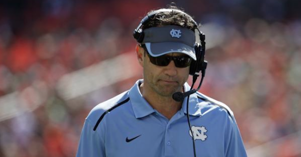 Larry Fedora discussed his hiring of Tim Beckman on Wednesday. (AP Photo).