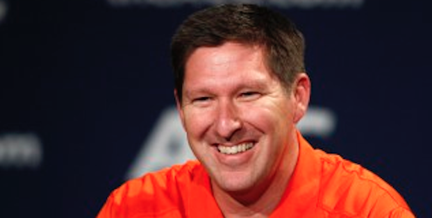 Brad Brownell is assembling one of the best recruiting classes he's had at Clemson. (AP Photo)