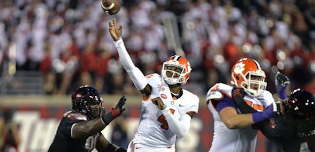 Clemson quarterback Deshaun Watson will lead the Tigers against Georgia Tech and Boston College the next two weekends. Clemson is the middle of a three-game homestand (AP photo)