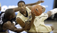 Madison Jones was recently dismissed from Wake Forest's basketball team. The Demon Deacons are left with minimal depth in the backcourt heading into the 2015-2016 season  (AP Photo/Chuck Burton)