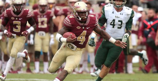 Dalvin Cook finished seventh in Heisman Trophy voting last year. (AP Photo)