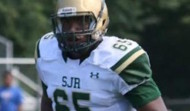 Montvale, New Jersey offensive lineman Joshua Fedd-Jackson has a series of new schools recruiting him (Twitter photo)