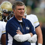 Paul Johnson and his staff are still pursuing several prospects in the 2017 class. (AP Photo)