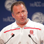 NC State basketball coach Mark Gottfried has been very active trying to add additional commitments from the 2016 class. (AP Photo)