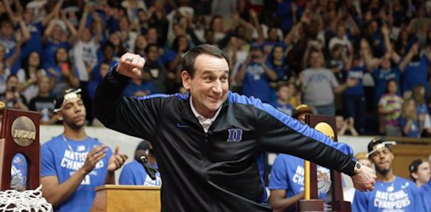 Mike Krzyzewski will coach Team USA one final time in this summer's Olympics. (AP Photo)