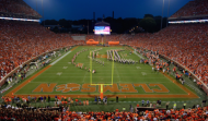 Over 572,000 fans traveled to Memorial Stadium this season to see Clemson play. (AP Photo)