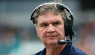 Paul Johnson's eighth season at Georgia Tech came to a close Saturday after a 13-7 loss to Georgia. (AP Photo)