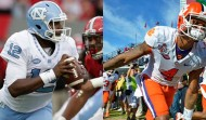 North Carolina's Marquise Williams (left) and Clemson's Deshaun Watson (right) have been huge catalysts in their respective squads' runs to Saturday night's ACC Championship Game in Charlotte. Both were huge recruiting victories during their high school days (AP images)