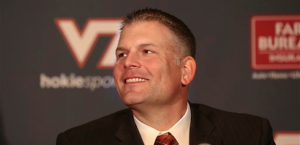Justin Fuente is off to a 2-1 start in his first season at the reins for Virginia Tech. (AP Photo)
