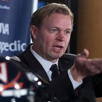 Bronco Mendenhall and Virginia announced a future football series with Old Dominion on Monday. (AP Photo)
