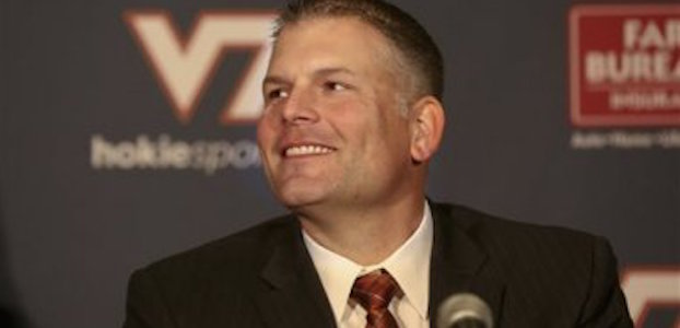 Justin Fuente and his staff added two new members to Virginia Tech's 2016 class on signing day. (AP Photo)