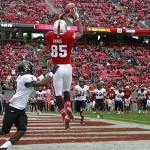 NC State now has a serious void at receiver without Jumichael Ramos. (AP Photo).