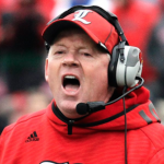 Bobby Petrino is expected to sign at least four in-state prospects this recruiting cycle. (AP Photo)