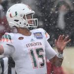 Miami quarterback Brad Kaaya threw 16 touchdowns to only five interceptions in 2015. (AP Photo)