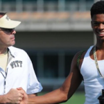 Pittsburgh head coach Pat Narduzzi has made 2016 defensive back Damar Hamlin a priority this recruiting cycle. (Source: Twitter account @HamlinIsland)