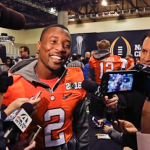 Former Clemson cornerback Mackensie Alexander could go in the first round of the 2016 NFL Draft. (AP Photo)