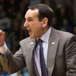 Duke head coach Mike Krzyzewski was upset with a no-call late in Duke's 64-62 loss to Syracuse on Monday. (AP Photo)