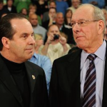 Mike Brey (left) and Jim Boeheim (right) are each in their third year as head coaches in the ACC. (AP Photo)