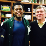 Class of 2016 defensive end Jahaziel Lee (middle) committed to Georgia Tech on Sunday. (Source: Twitter account @95Jahaziel)