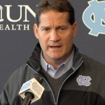 Gene Chizik remains at North Carolina for the time being, but it shouldn't be too much longer before another Power 5 conference school comes calling in need of a head coach (UNC photo)