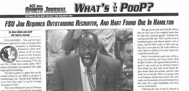 Florida State ACC Sports Journal