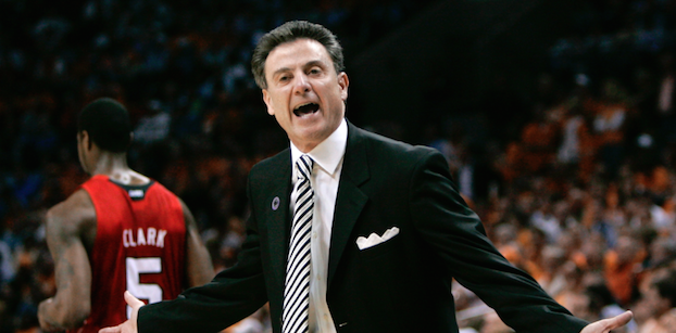 Rick Pitino has led Louisville to three Final Fours in 13 years. (AP Photo)