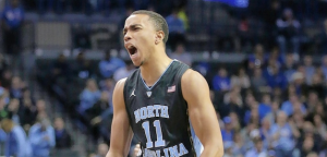 North Carolina power forward Brice Johnson is averaging a double-double this season. (AP Photo)