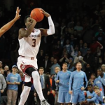 Boston College senior Eli Carter scored 26 points against UNC on Tuesday night. (AP Photo)