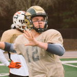 Chase Brice is one of two heavily recruited quarterbacks in the 2017 class to commit to Clemson. (Source: Twitter account @CBrice_2)