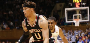 Louisville guard Damion Lee will end his college career without playing in an NCAA tournament. (AP Photo)