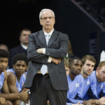 North Carolina basketball coach Roy Williams will likely take a large 2017 class. (AP Photo)