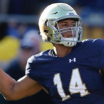 Quarterback DeShone Kizer became a starter for Notre Dame in 2015 after Malik Zaire went down with a broken ankle. (AP Photo)
