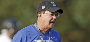 David Cutcliffe applauds the ACC for implementing collaborative instant replay for this season. (AP Photo)