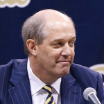 Kevin Stallings is entering his first season as Pittsburgh's head basketball coach. (AP Photo)