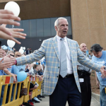 Roy Williams has guided UNC to the Final Four in four of the last 12 seasons. (AP Photo)