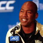 Danny Manning smiles