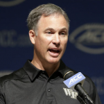 Dave Clawson and his staff will take a few more players this recruiting cycle. (AP Photo)