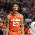 Malachi Richardson averaged 13.4 points and 4.3 rebounds per game as a freshman at Syracuse this past season. (AP Photo)