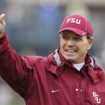 Jimbo Fisher waves