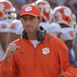 Dabo Swinney guided Clemson to a 14-1 record in 2015. (AP Photo)