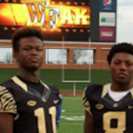 Is Wake Forest the favorite for 2017 defensive end Michael Allen (left)? (Source: Twitter account @bigmikeal)